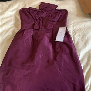 Jcrew purple dress